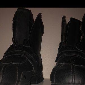 Men's Black Polo Boots size 10 1/2